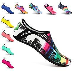 Kids Water Shoes Barefoot Swim Skin Shoes Quick-Dry Aqua Soc