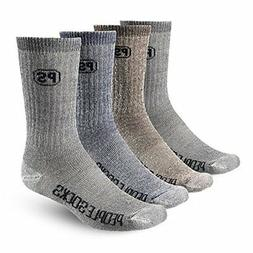PEOPLE SOCKS 4pairs merino wool mens socks CharcoalX 2pairs,