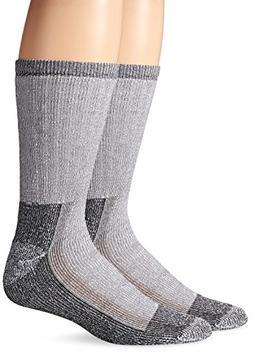 Fruit of the Loom Men's 2-Pack Pro Work Gear White Crew Sock