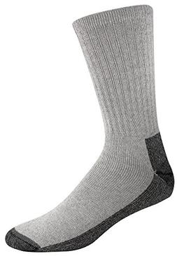 Wigwam Men's At Work 3-Pack Socks, Grey Large