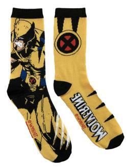 Marvel X-Men The Wolverine 2 Pack Crew Socks